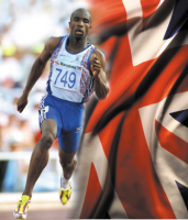Derek Redmond does special feature for NBC