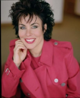 This image is of Ruby Wax a speaker who may be booked through Parliament Speakers for public speaking engagements