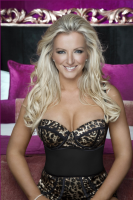 This image is of Michelle Mone OBE a speaker who may be booked through Parliament Speakers for public speaking engagements