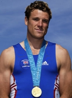This image is of James Cracknell MBE a speaker who may be booked through Parliament Speakers for public speaking engagements