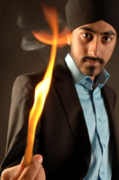 This image is of Magic Singh a speaker who may be booked through Parliament Speakers for public speaking engagements