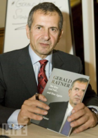 This image is of Gerald Ratner a speaker who may be booked through Parliament Speakers for public speaking engagements