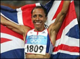 This image is of Kelly Holmes - Dame, CBE a speaker who may be booked through Parliament Speakers for public speaking engagements